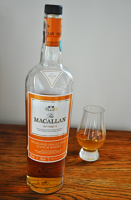 Macallan Amber Whisky 1824 Series