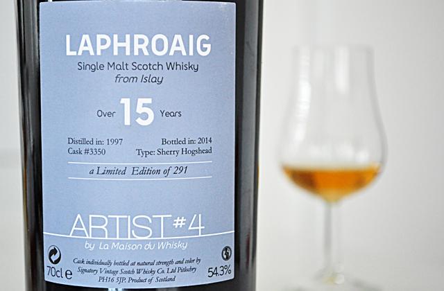 Laphroaig 1997 54,3% LMDW ARTIST#4